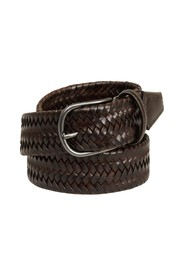 Elasticated braided belt