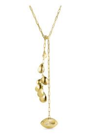 Envision Tie Up Necklace, forgyldt sterlingsølv