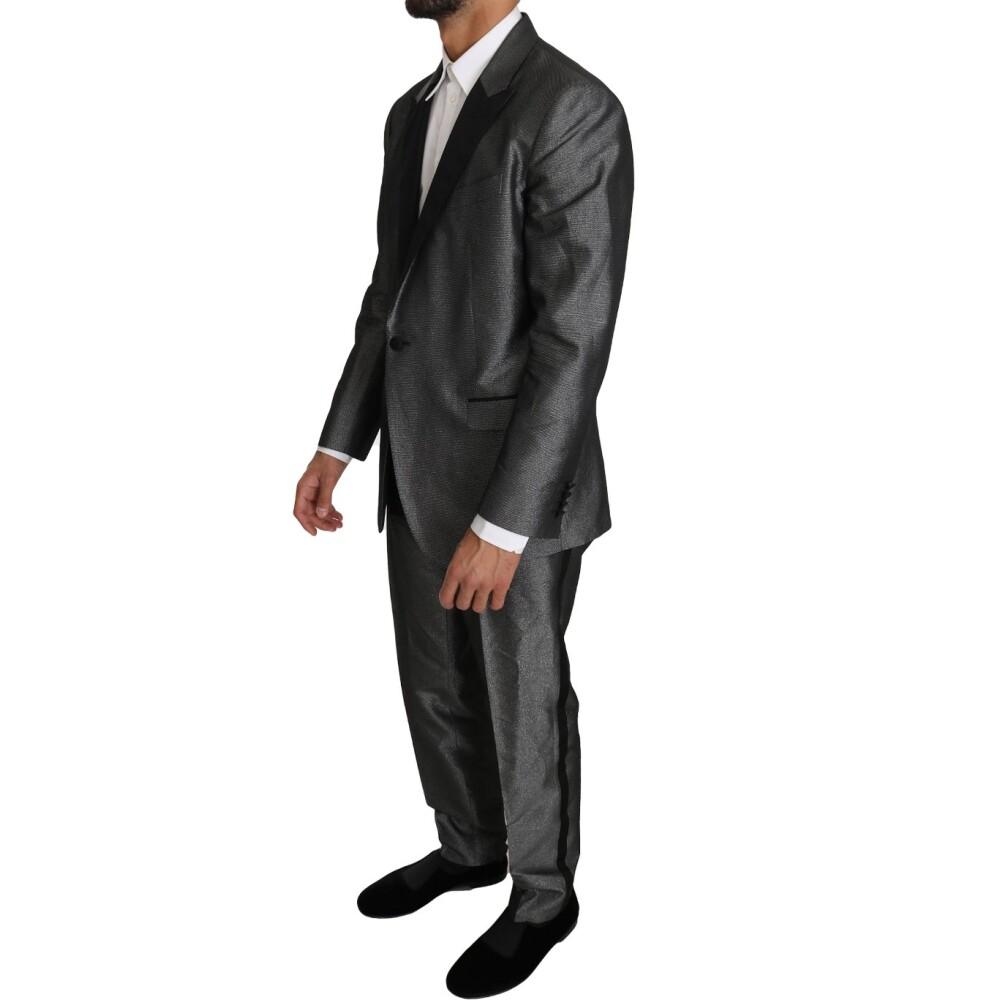 Gray Patterned MARTINI 2 Piece Suit   Dolce & Gabbana   Garnitury całe - Najnowsza zniżka c6xgA