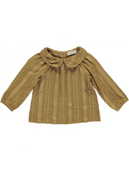 Tully Striped Anglaise Bluse