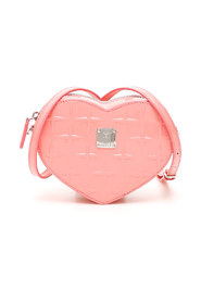 Patricia diamond heart bag