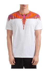 men's short sleeve t-shirt crew neckline jumper wings
