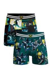 2-Pack shorts Comic Multi