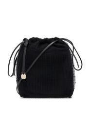 Shoulder bag with mesh