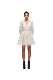 Lace Trimmed Mini Dress
