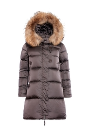 Stella long puffer jacket