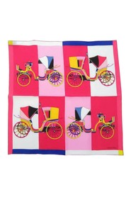 Les Voitures Silk Scarf