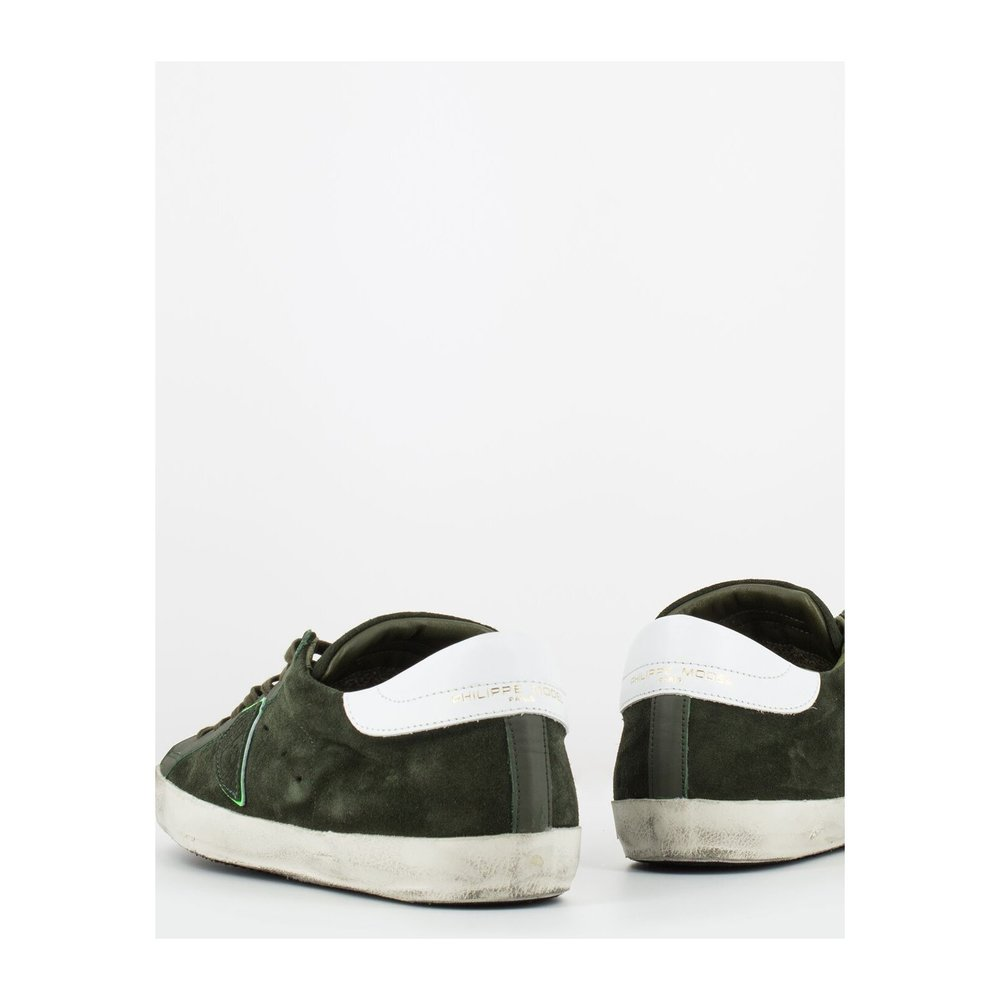 Green Paris low mixage sneakers | Philippe Model | Sneakers | Herenschoenen