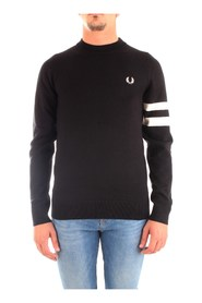 FRED PERRY K7505 JERSEY Men BLACK