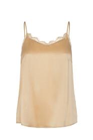 Ditte Lace Silk Singlet
