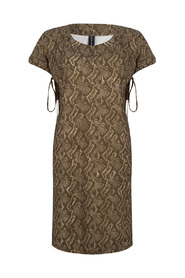 UAO920SS25B Snake dress