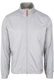 Lysegrå Swims Sorrento Windbreaker Limestone Jakke
