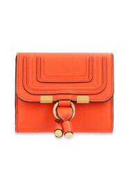 Marcie logo-embossed wallet