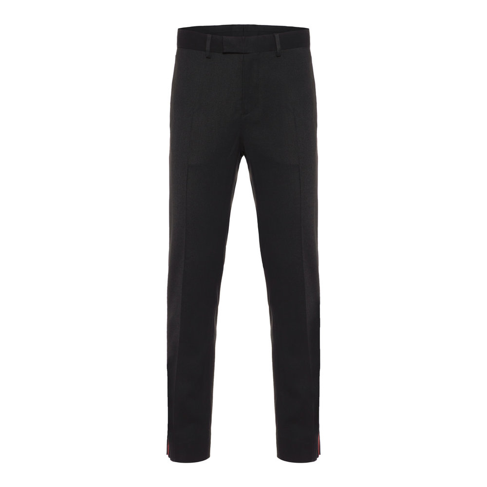 Trousers Vernon Stripe Wool Twill
