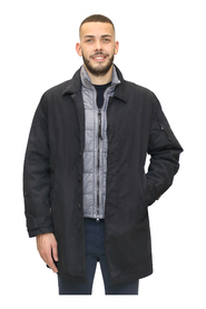Parka with quilt