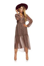 Szyfonowa sukienka MARGARET