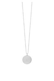 Diamond Coin Necklace