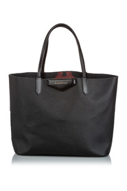 Leather Antigona Tote