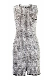Tweed Sleeveless Dress