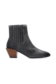D-Texanne heeled ankle boots