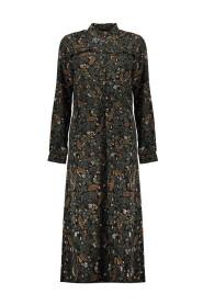 MAXI jurk LEAVES&FLOWERS 07623-20