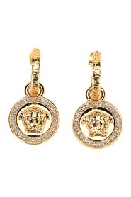 Greca and Medusa drop earring