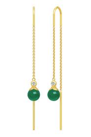 Berry Chain Earrings - Gold