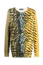 Safari motif jumper