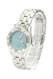 Pre-owned Seamaster Quartz Stainless Steel Women's Sports Watch 2085.71