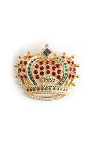 Royal crown brooche