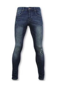 Skinny Basic Jeans - Washed Jeans - D3021