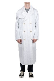 Striped Outline Trench Coat