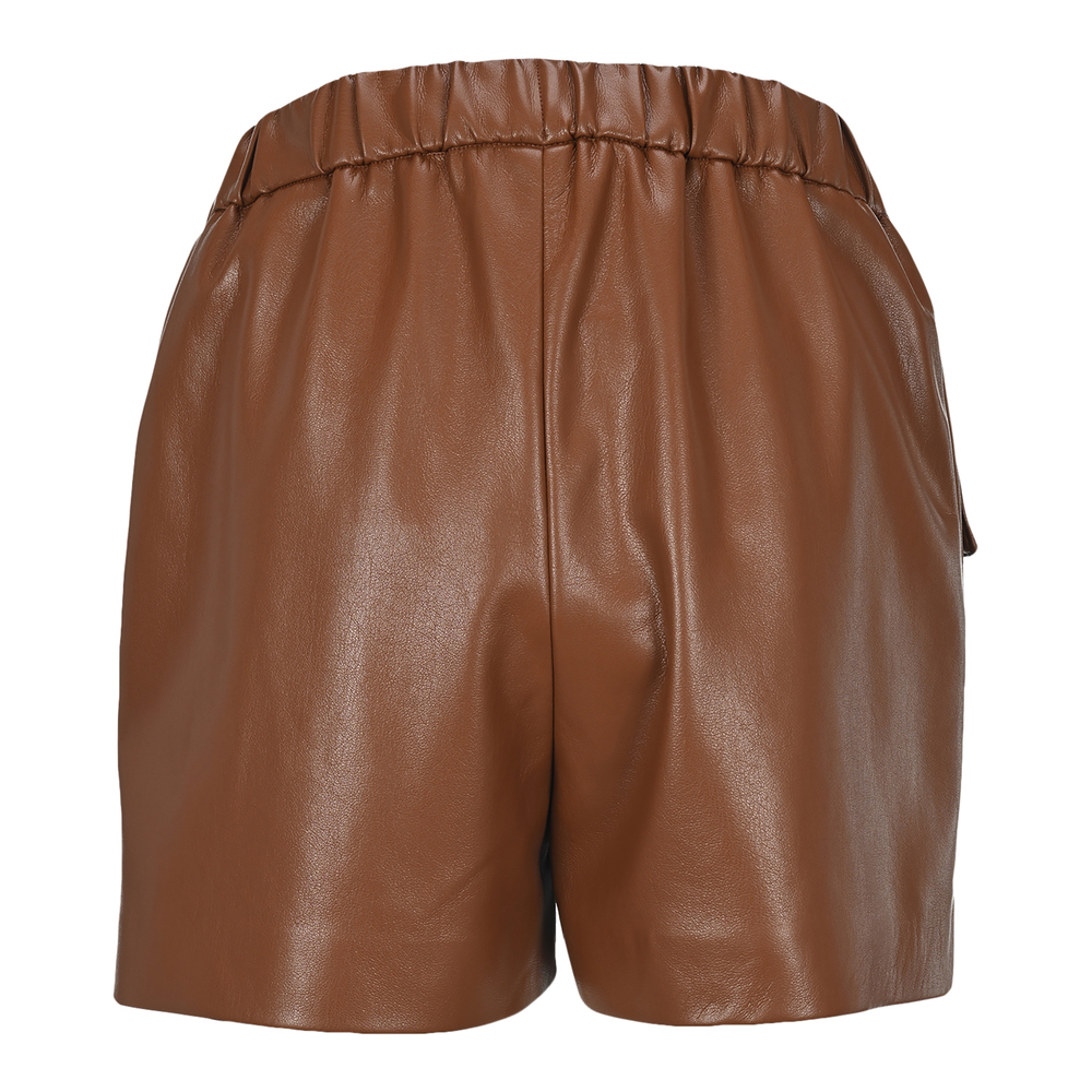 MSGM Brown Outlet Bermudas 2941MDB03207652 MSGM