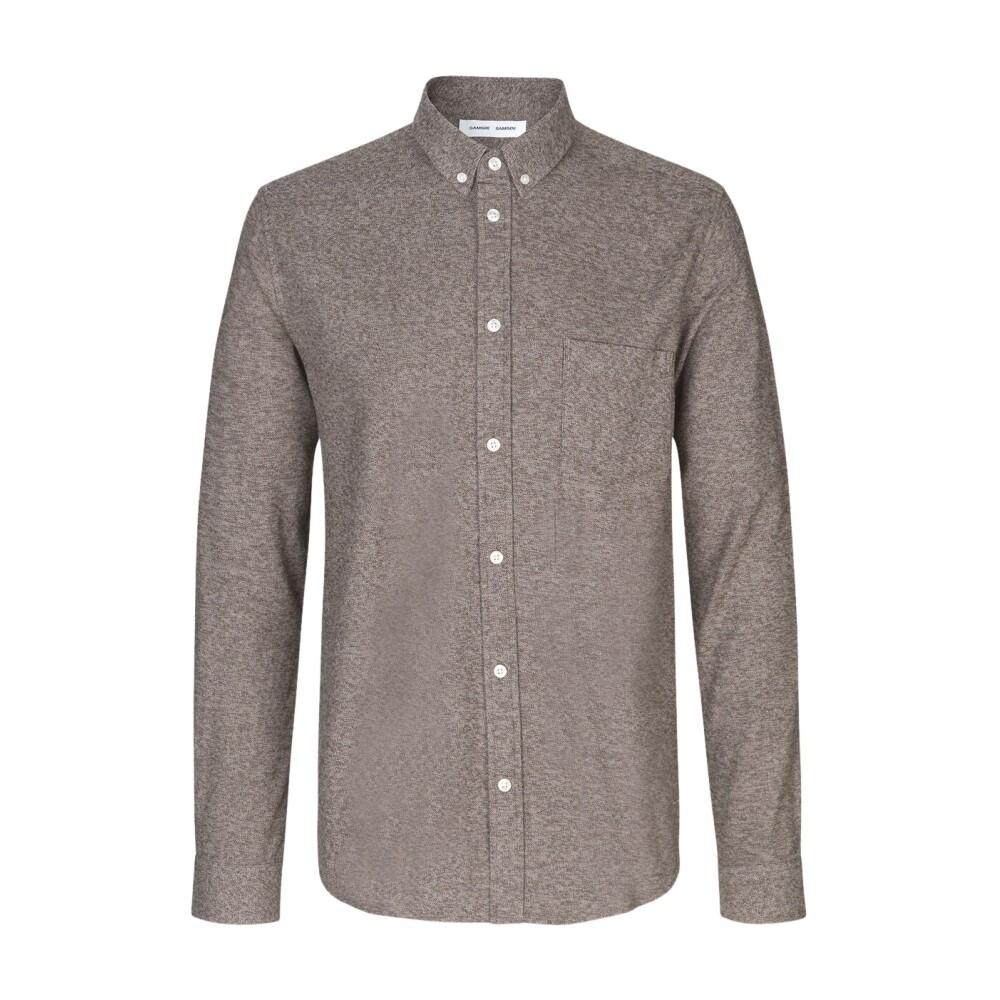 Brown Liam BX skjorte | Samsøe Samsøe | Langermede skjorter