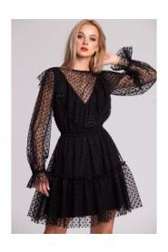 Sukienka tiulowa w kropki Charlotte