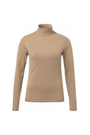 Rollneck Sweater w/button Det