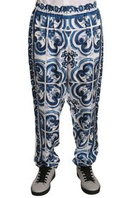 Floral Print Silk Lounge Sleepwear Pants