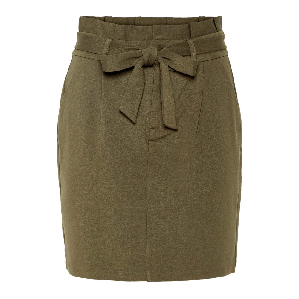 VMEVA HR PAPERBAG SHORT SKIRT COLOR