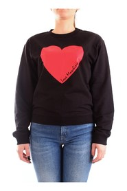 Sweatshirt with heart