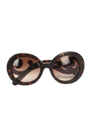 Pre-owned Tinted Roung Sunglasses Brown