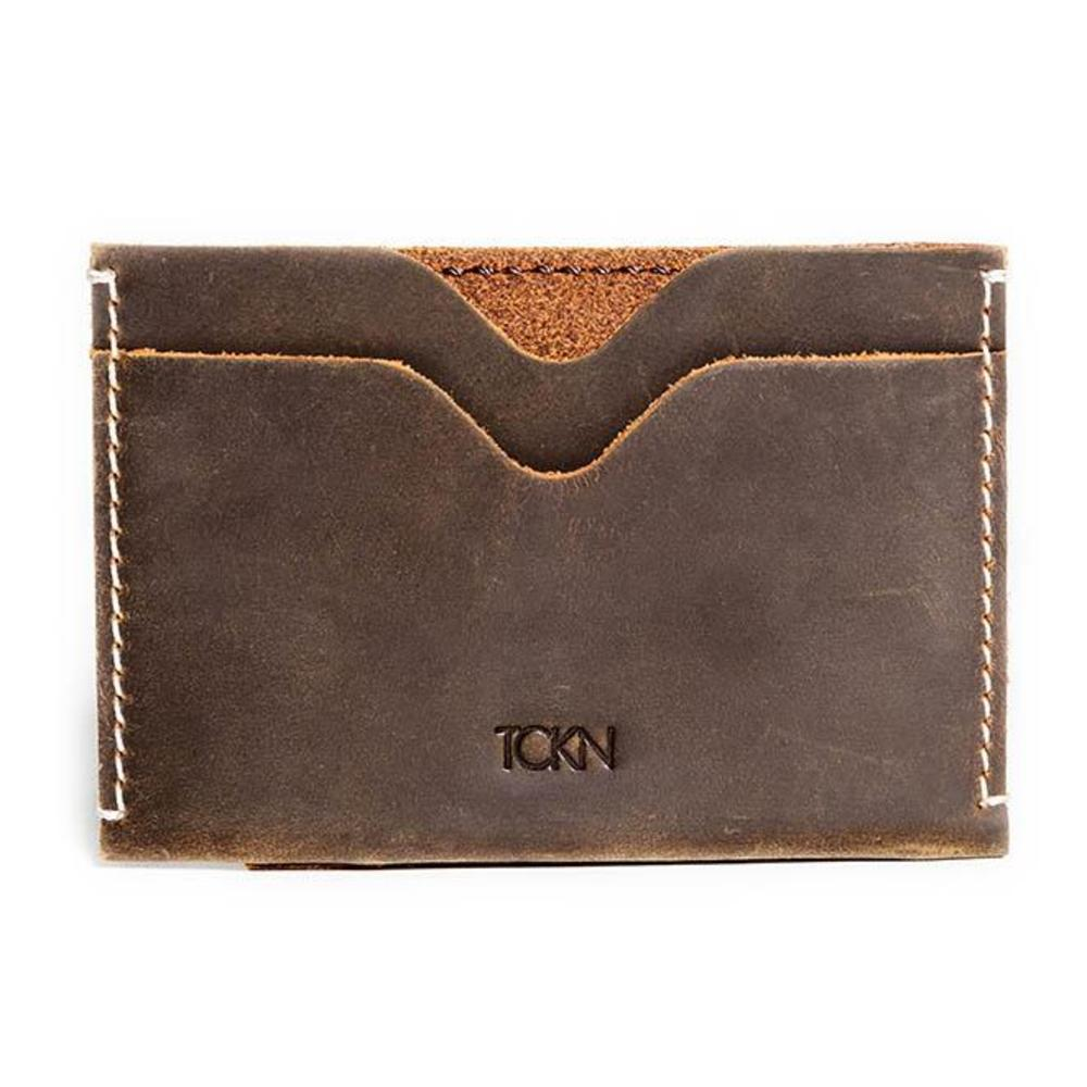 Card holder genuine leather