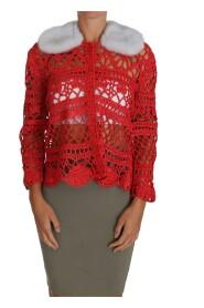 Cardigan Crochet Knit Raffia
