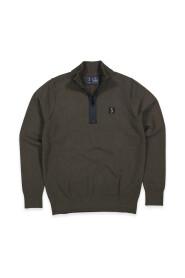 Clifden knit half zip