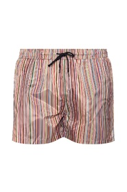 Striped swimming shorts