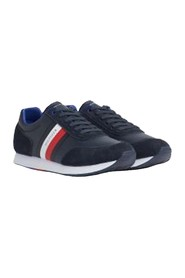 TOMMY HILFIGER FM0FM02602 FLAG RUNNER SNEAKERS Men MIDNIGHT