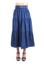 WA1162 T4587 long skirt