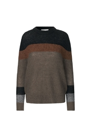strikbluse - Hector Knit, Old Brass