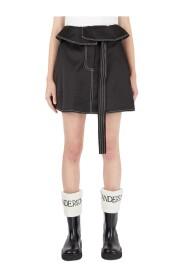 Fold Over Waist Skirt