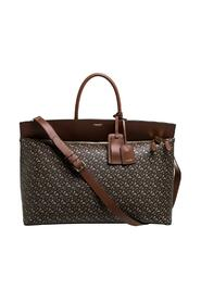 Pre-owned Coated Canvas and Leather Extra Large Society Top Handle Bag
