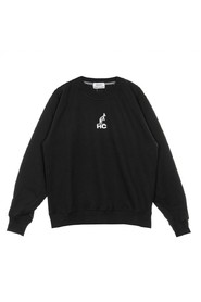 Lightweight Printed Crewneck Sweatshirt
